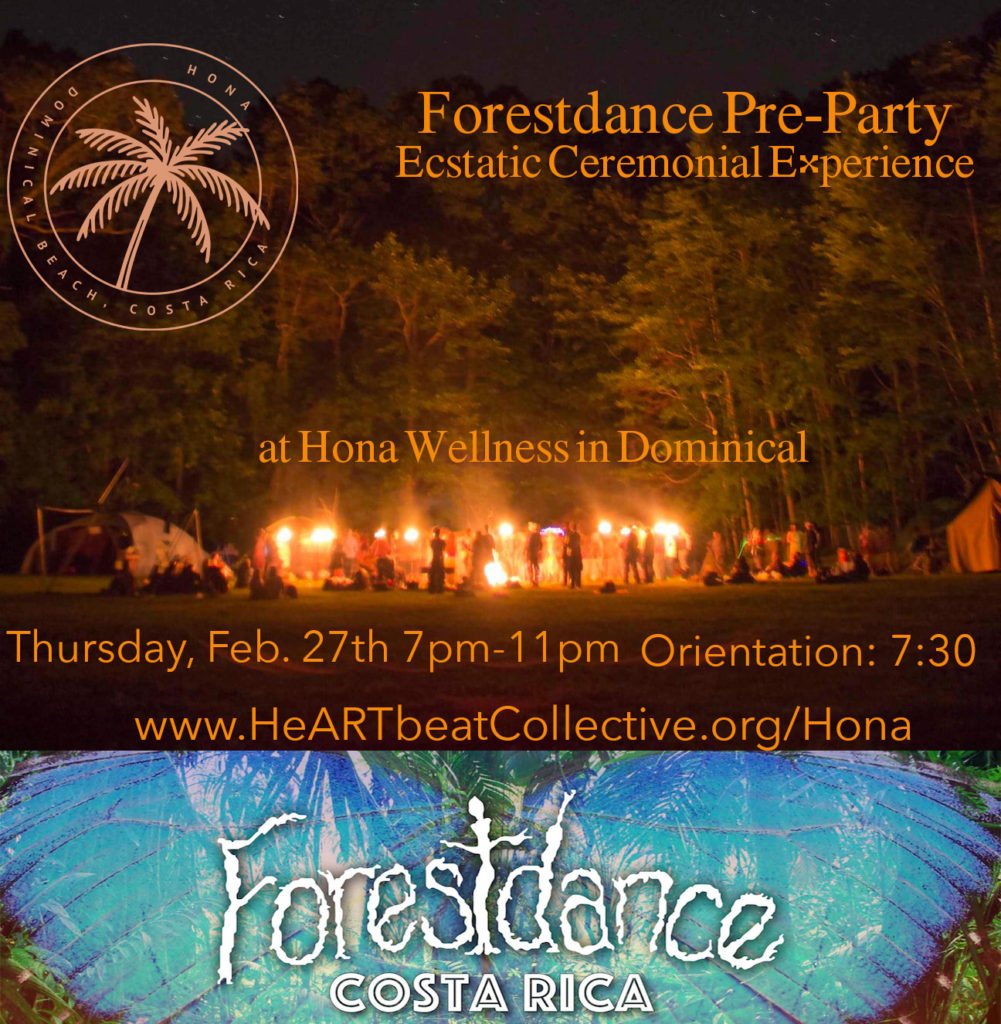 Forestdance pre-party Thursday February 27